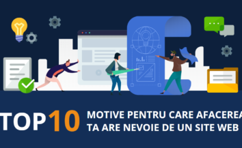 Afacerea ta are nevoie de un site web. Top 10 Motive.